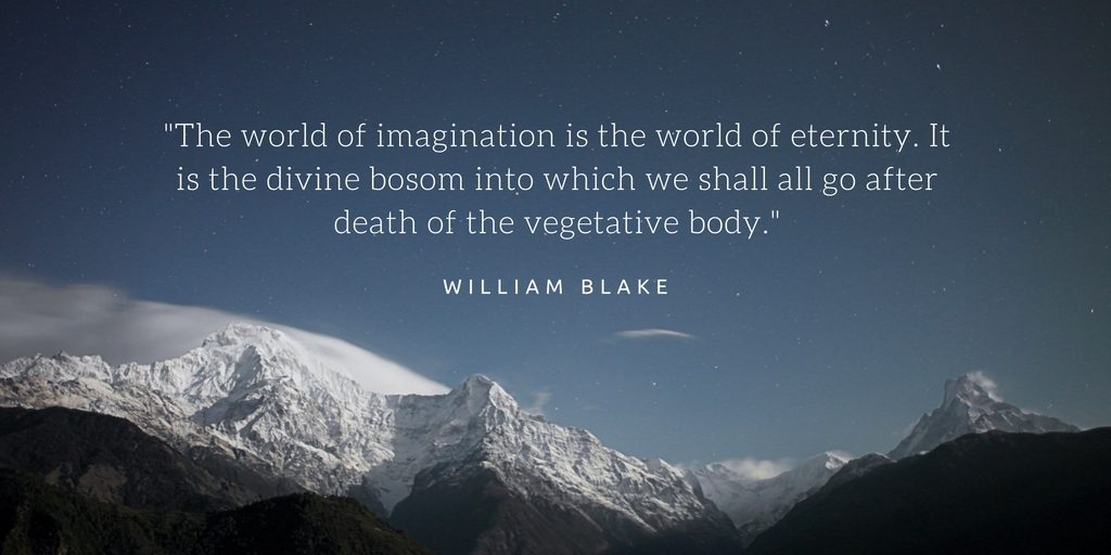 the world of imagination is the world of eternity
